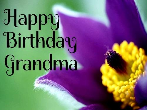 20 Lovely happy birthday to grandma