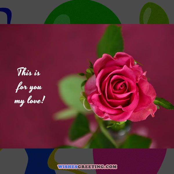 happy bday my love