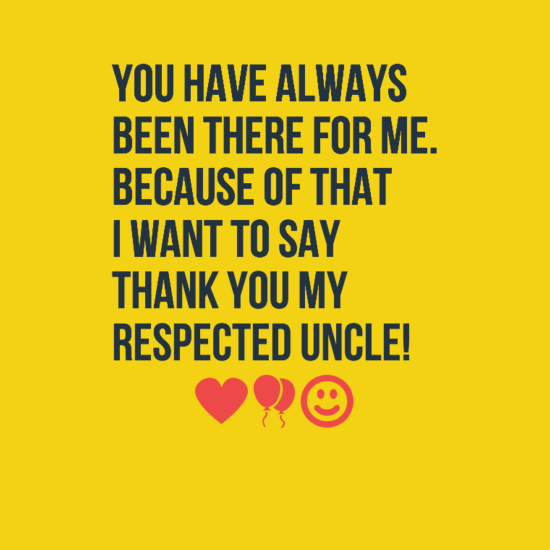 birthday wishes for respected uncle
