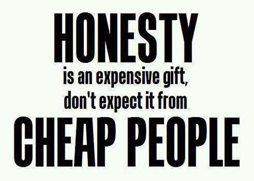 Honesty Messages