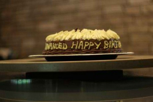 Advance Birthday Greeeting