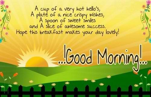 Morning Wishes for Her