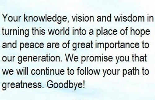 farewell and goodbye for everyone quotes