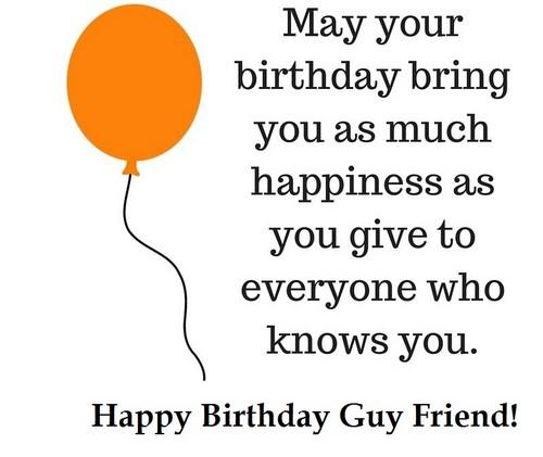 funny happy birthday for a guy friend