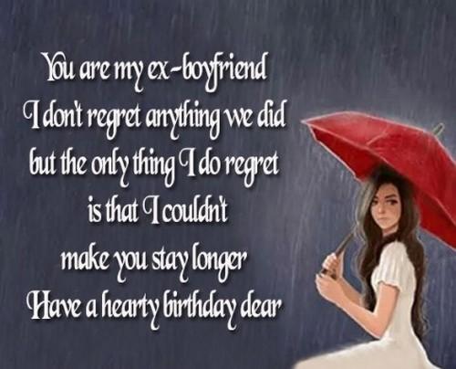 To boyfriend ex paragraph your 3 Best
