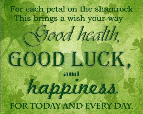 lovely irish birthday wishes image